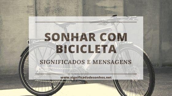 sonhos com bicicleta