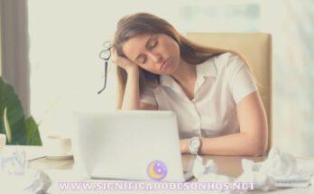 Sonolência Excessiva Diurna: causas, tratamento e sintomas