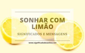 Desvende os Significados Sonhar com Limão