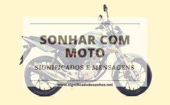 Quais os significados de sonhar com moto?